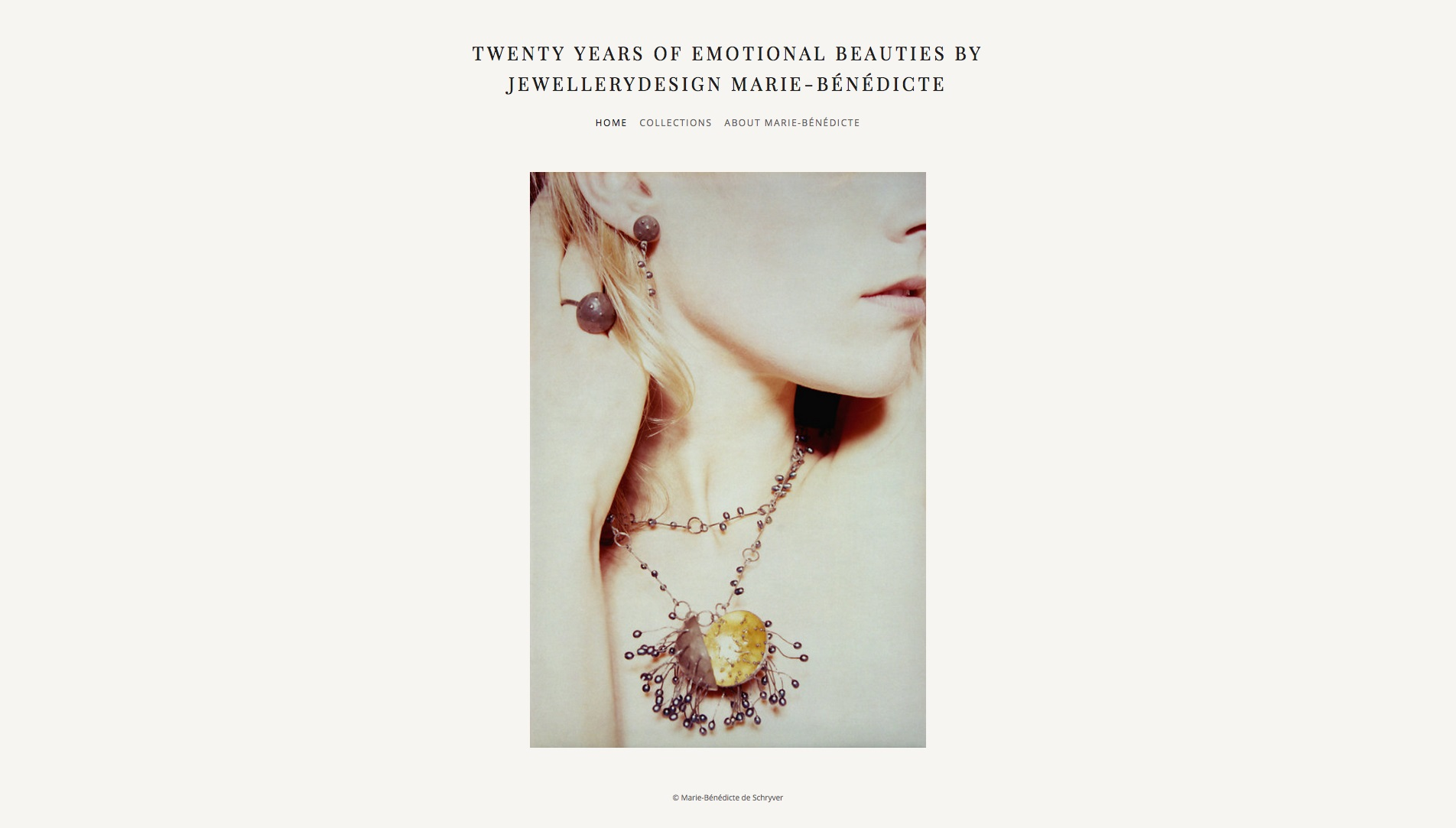 20 years of emotional beauties by Jewellerydesign Marie-Bénédicte